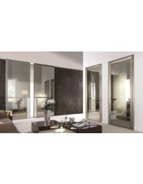 340 IANUS Battente Relief Matt Satined bronze-Stop sol bronze-Suede Royal grey