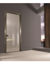 308 SPARK Battente Flat Matt Satined bronze-Exner neutral glass